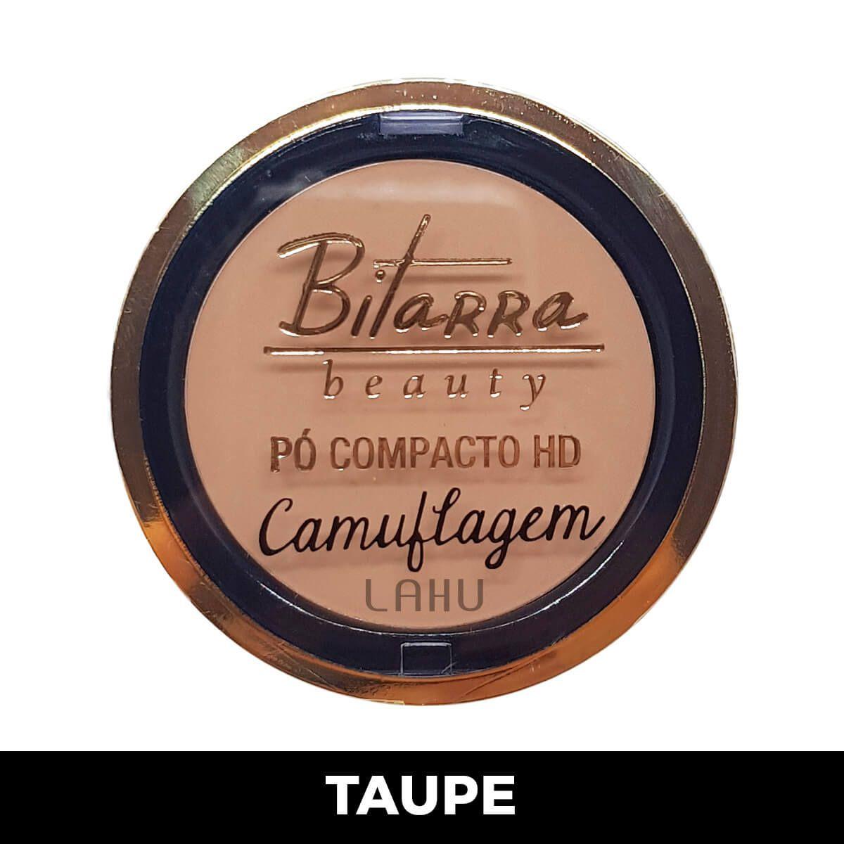 Pó Compacto HD Camuflagem Bitarra - Taupe