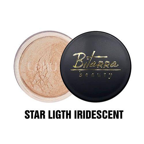Pó Facial Iluminador Iridescent Star Light Bitarra Beauty