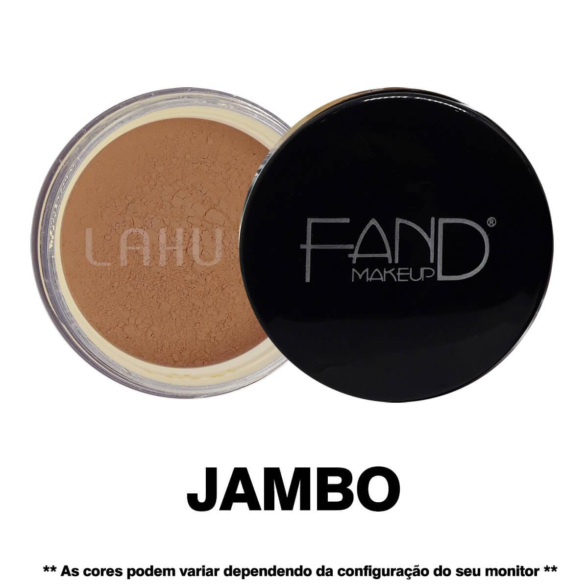 Pó Facial Solto Jambo Fand Makeup