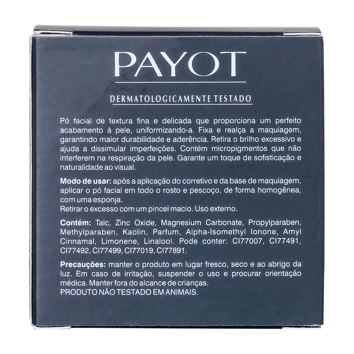 Pó Facial Translúcido Payot Matte 05 - Textura Super Fina