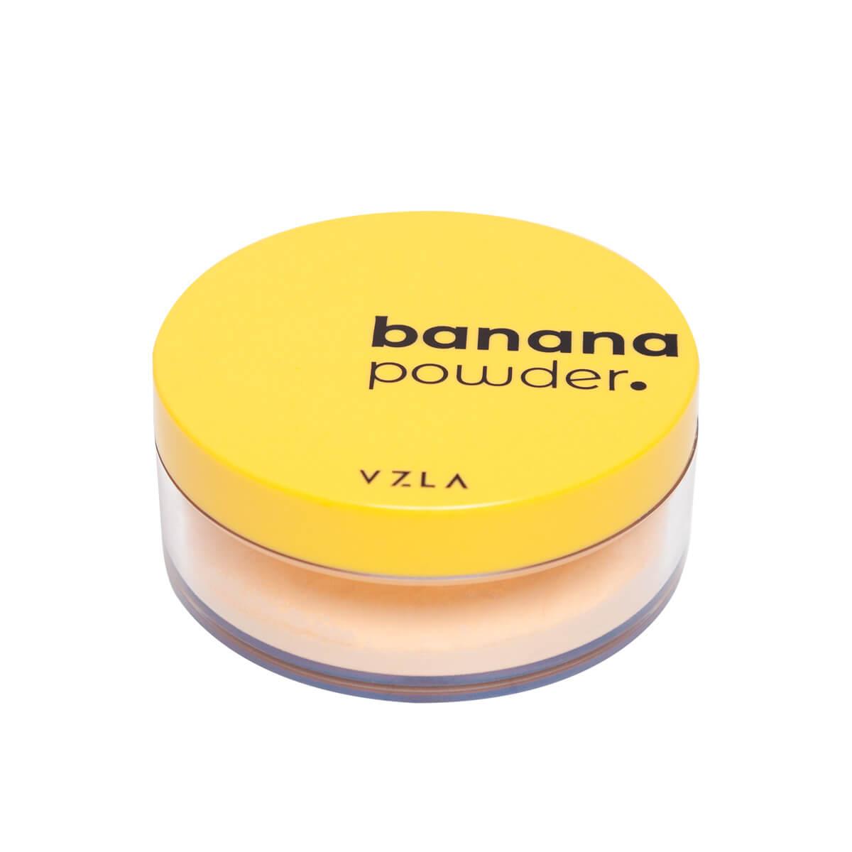 Pó Vegano Vizzela Banana Powder Ultrafino Aveludado Color Adapt
