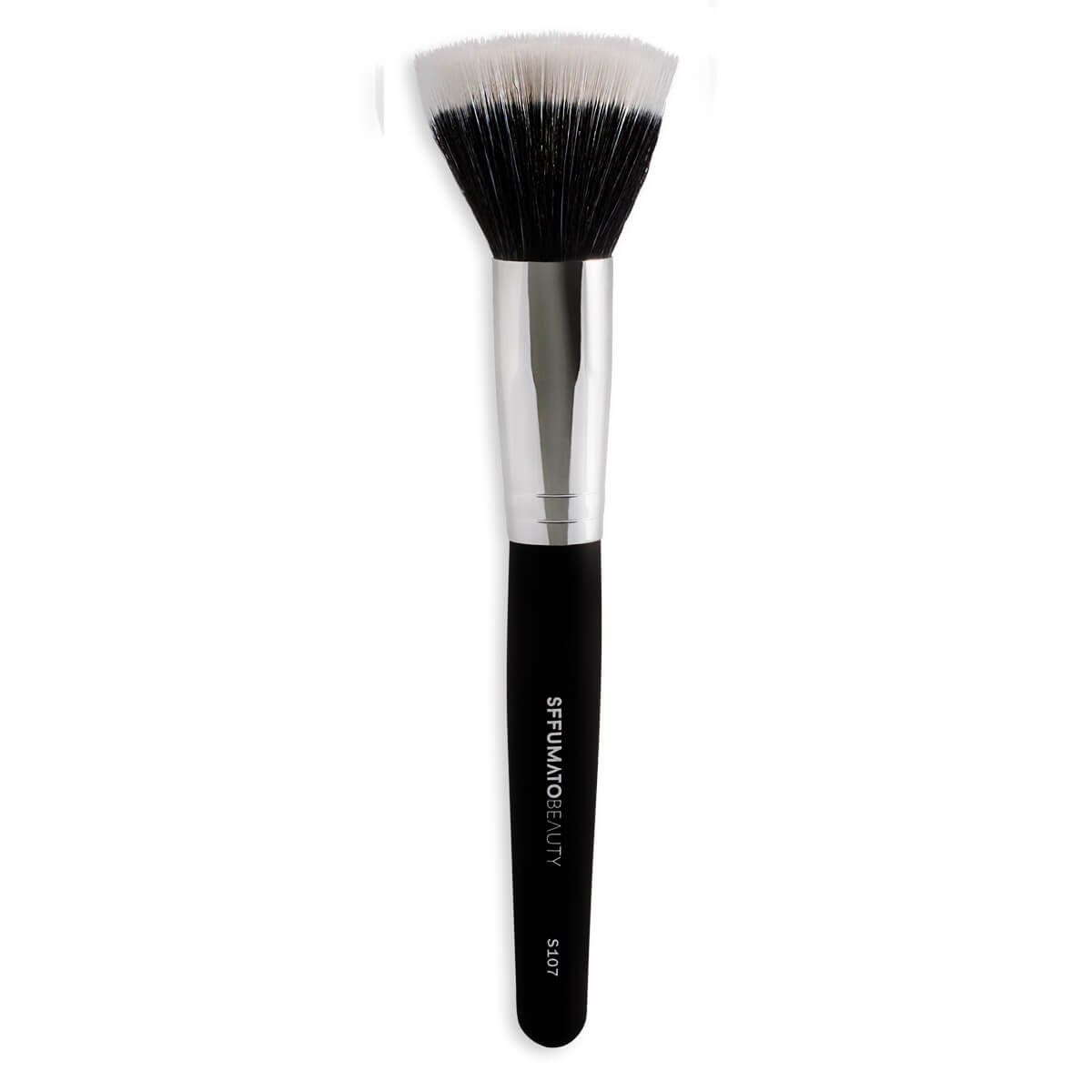 S107 - Pincel Duo Fiber Grande Profissional Sffumato Beauty