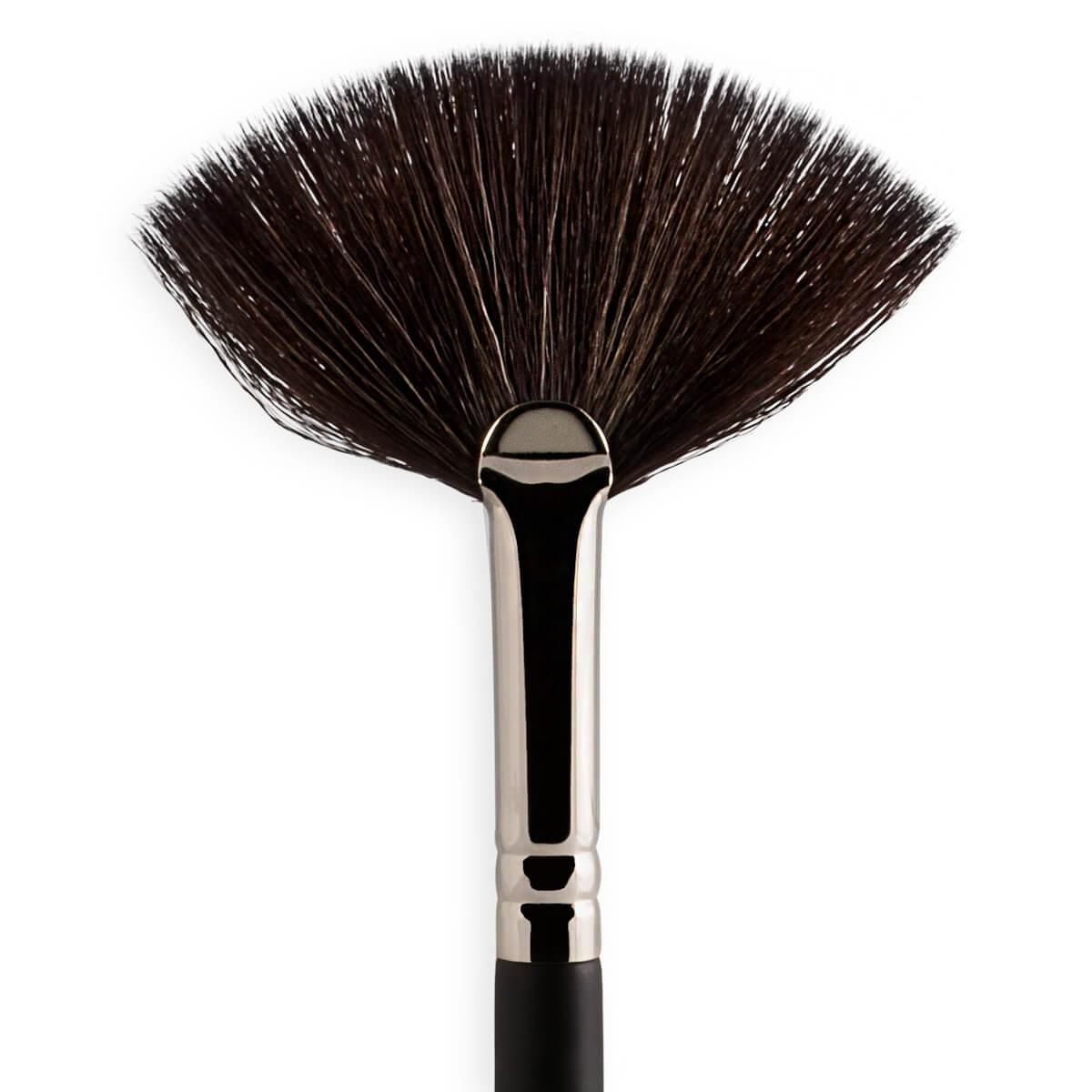 S137 - Pincel Leque Para Iluminador Sffumato Beauty
