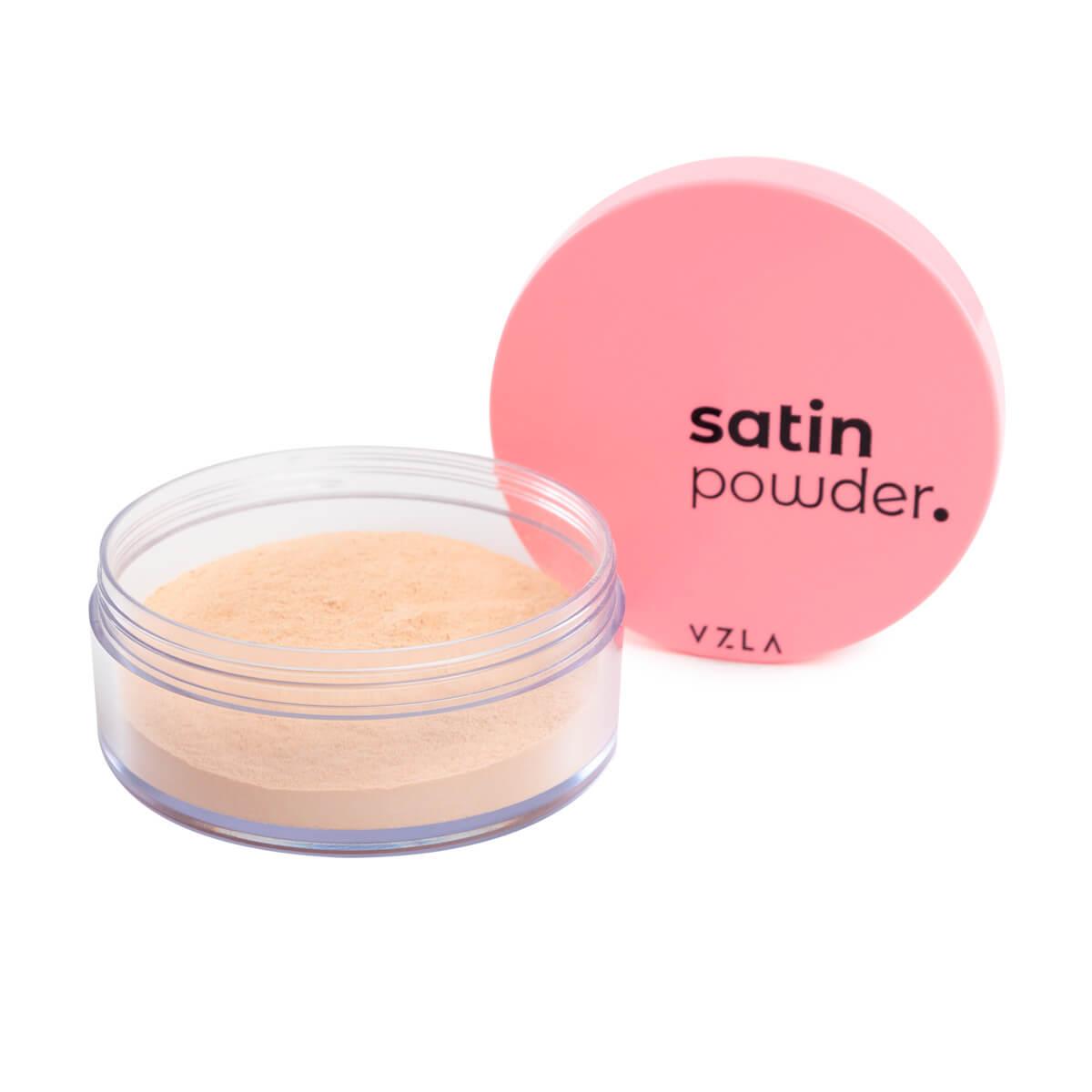 Satin Powder Vizzela Cor 2 Pó Solto Ultrafino Acabamento Acetinado