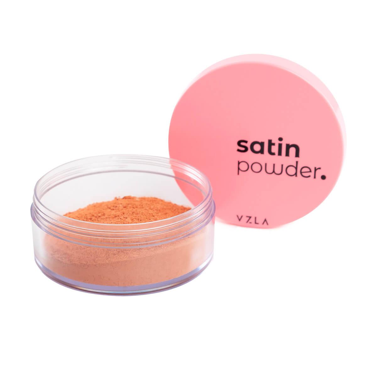 Satin Powder Vizzela Cor 3 Pó Solto Ultrafino Acabamento Acetinado