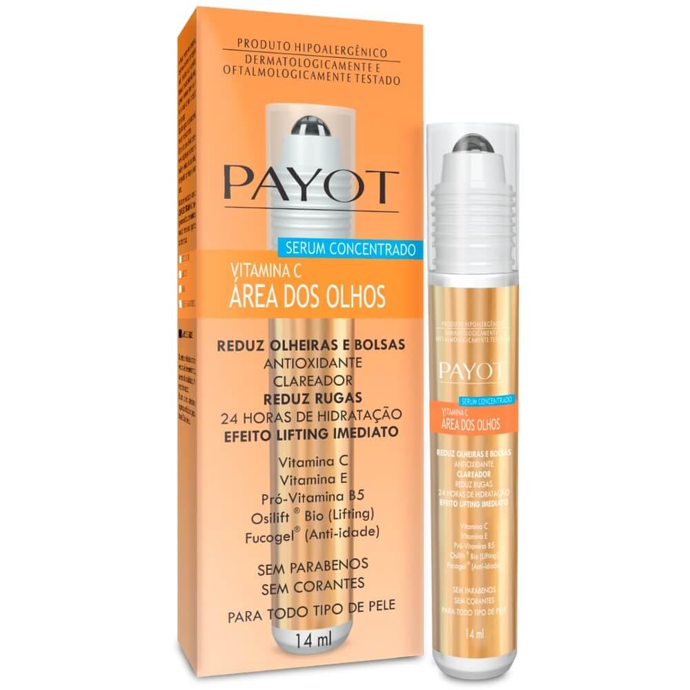 Sérum Vitamina C Concentrado Payot para Área Dos Olhos Anti-idade