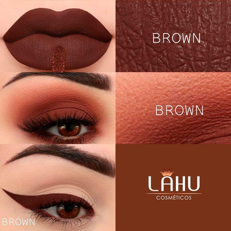 Sombra Líquida Primer BT Velvet 2X1 Bruna Tavares Cor Brown