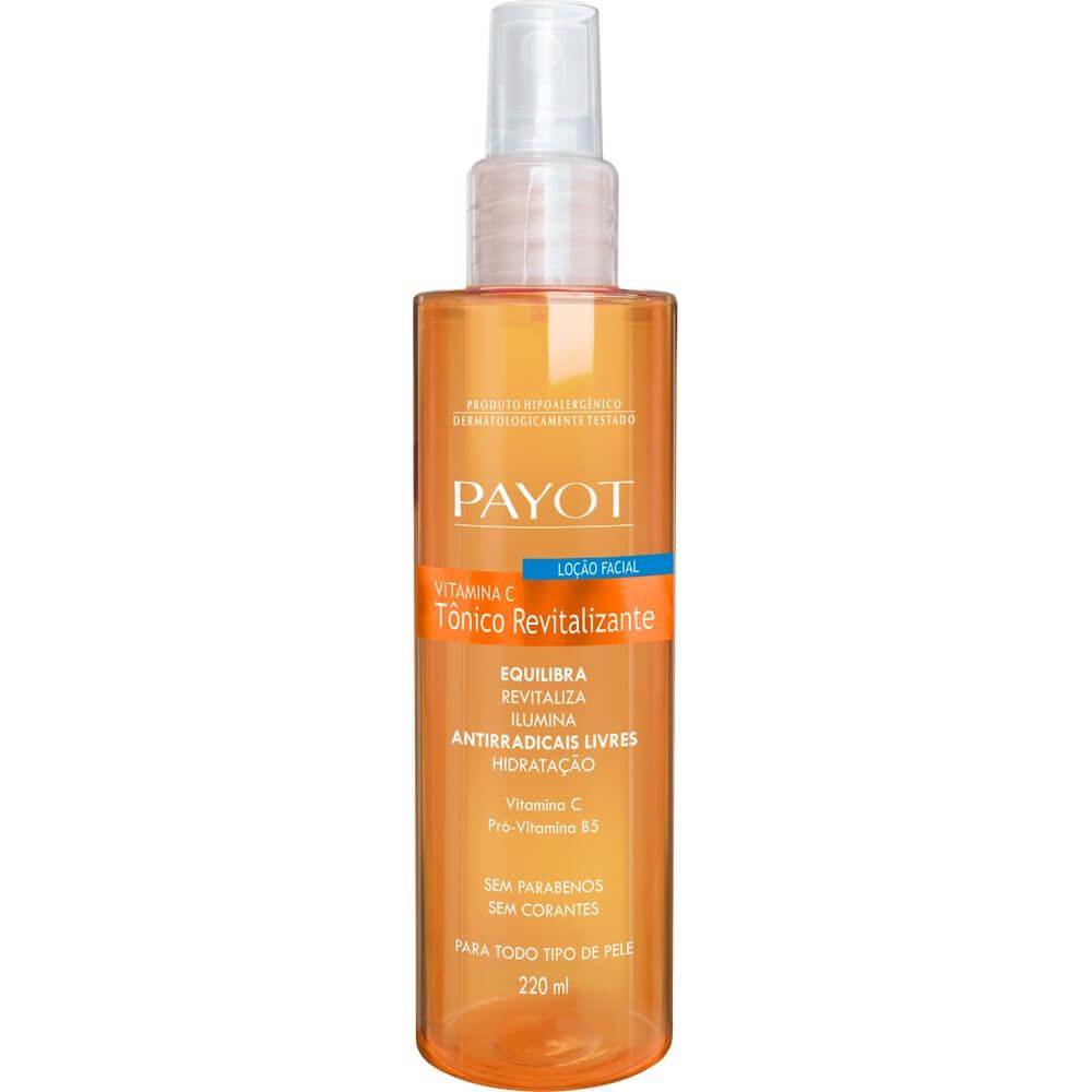 Tônico Facial Revitalizante Vitamina C Payot - Não Oleoso