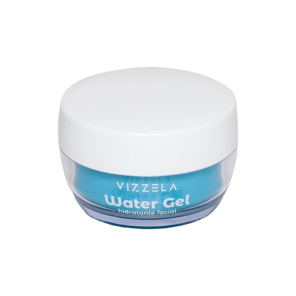 Water Gel Hidratante Facial Vizzela - Hipoalergenico Refrescante