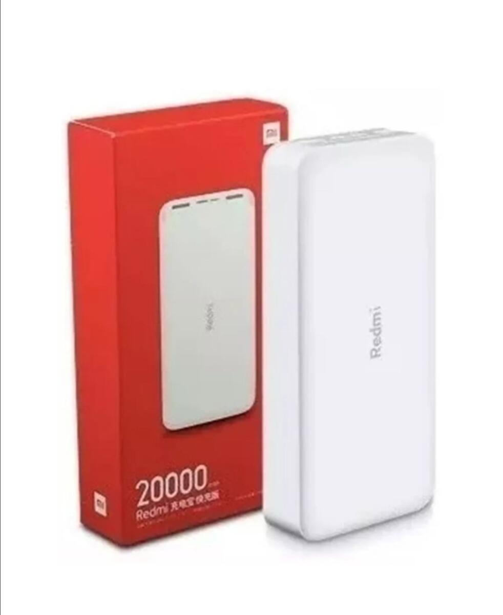Carregador Portátil Xiaomi Redmi 20000mah Quick Charge 18W