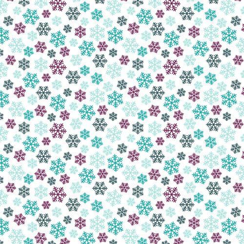 Papel Scrapbook 10 folhas com Estampa Estações (30,5cm x 30,5cm)