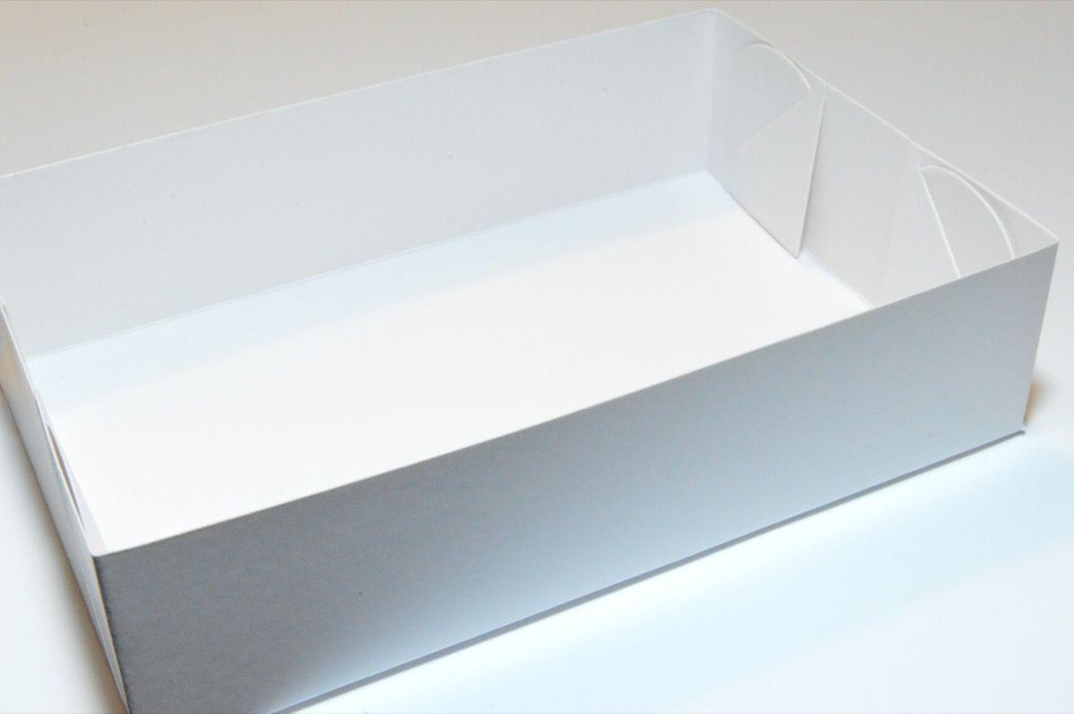 Caixa com visor para 6 doces (10 unidades)