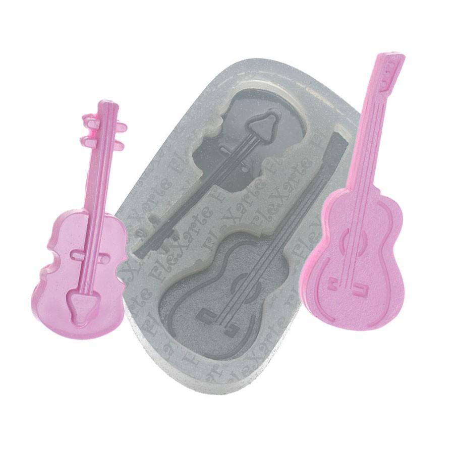 Molde de Silicone Flexarte - Categoria Musical