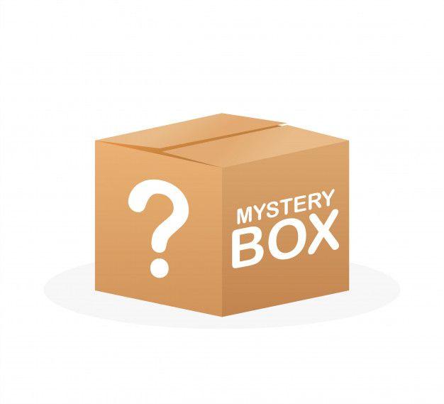 Mystery Box com 15 folhas de estampas sortidas