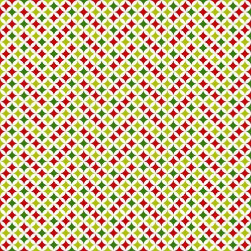 Papel Scrapbook Pacote com 5 folhas Estampa Abstrata (30,5cm x 30,5cm)