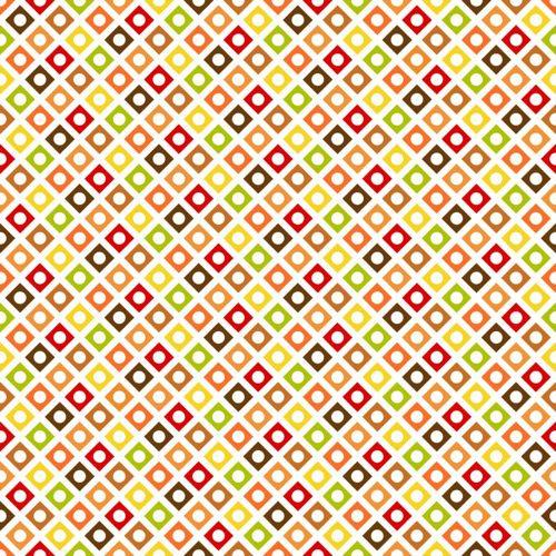 Papel Scrapbook Pacote com 5 folhas Estampa Geométrica (30,5cm x 30,5cm)