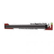 Barra Magnetica Preta 49 cm - CTR-128 - Gedex