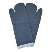Luva Termica Mao de Gato Grafatex Azul 35cm