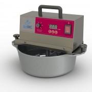 Panela Alumínio Mexedora de Brigadeiro e Recheios Bivolt 28 cm Inox Bagiquinha Baby