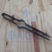 Pegador De Carvão Grande Para Narguile Preto 27cm