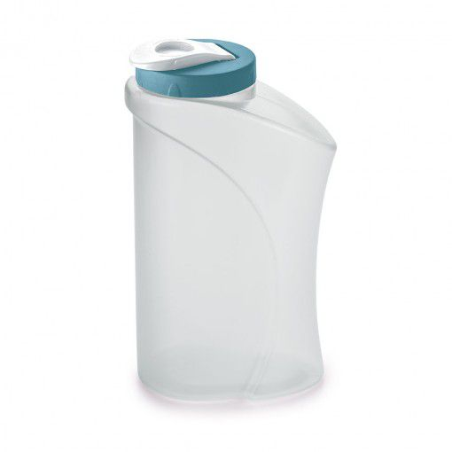Garrafa de Plastico Agua 2L Tampa Rosca Azul Plasutil