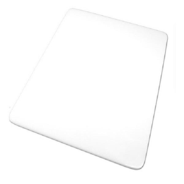 Kit com 2 Tabua Placa de Corte Polietileno Carne 60x40x0,8 Branca Cod. 92 Pronyl