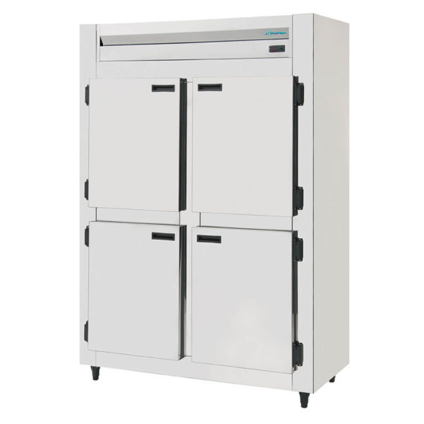 KRBR-4 Refrigerador Comercial Digital Inox 4 Portas Inox Brilhoso com Galvanizado Kofisa