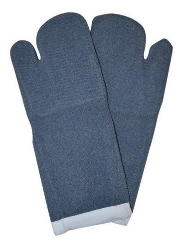 Luva Termica Mao de Gato Grafatex Azul 45cm