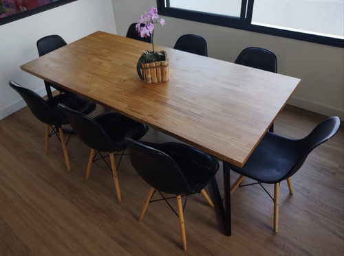 Mesa de Jantar Estilo industrial 2,00x0,90