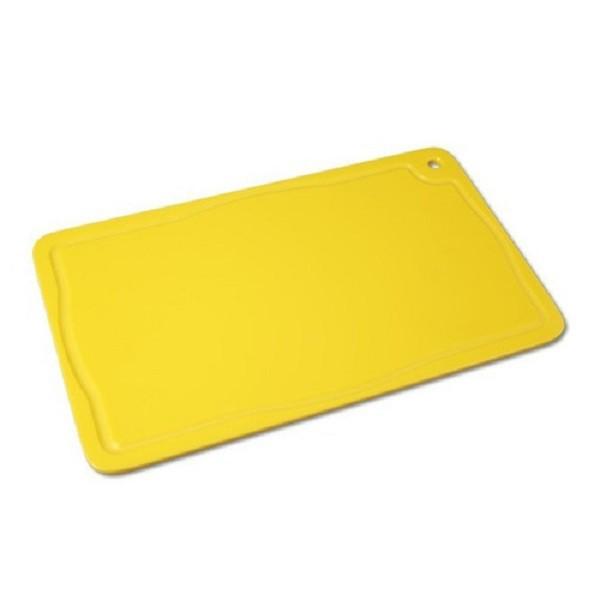 Tabua Placa de Corte Polietileno Carne 50x30x1 Amarela Cod. 159 Pronyl