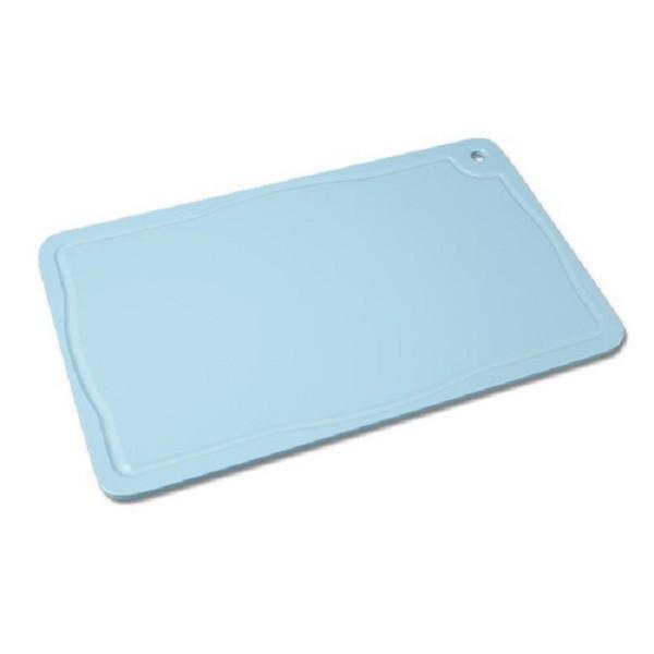 Tabua Placa de Corte Polietileno Carne 50x30x1 Azul Cod. 157 Pronyl