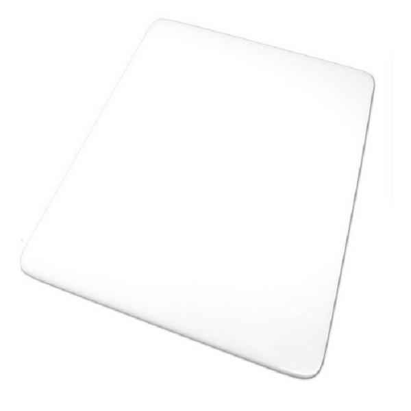 Tabua Placa de Corte Polietileno Carne 60x40x0,8 Branca Cod. 92 Pronyl