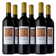 Kit #29  - BOX  6 Unidades Tesouro da Vinha Tinto 2019