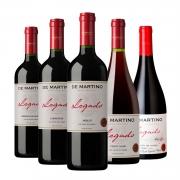 Kit #33 - De Martino Legado Gran Reserva - Cabernet Sauvignon,  Carménère,  Merlot,  Pinot Noir e  Syrah