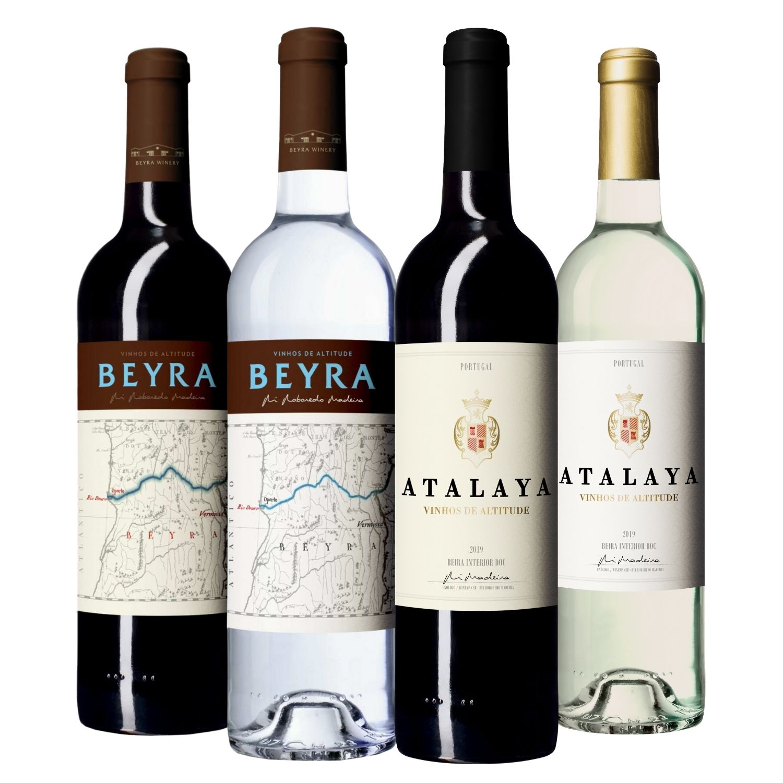 Kit #11 - Beyra Tinto, Beyra Branco, Atalaya Tinto, Atalaya Branco