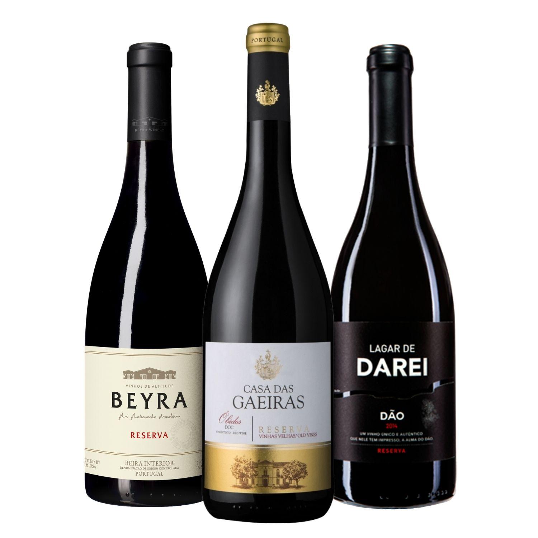 Kit #13 - Beyra Reserva Tinto, Casa das Gaeiras Vinhas Velhas e Lagar De Darei Reserva Tinto