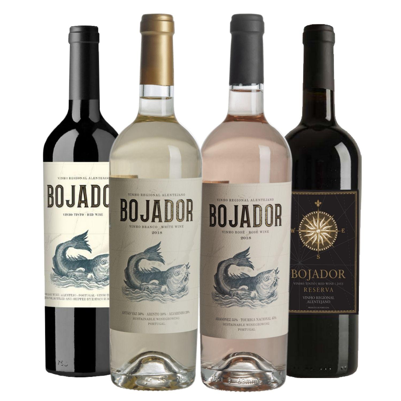 Kit #01 - Bojador (Tinto, Branco, Rosé e Reserva)