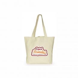 Bolsas em Tecido Algodão Cru 40x50cm Personalizada em 1 cor