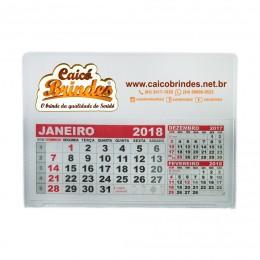 Calendário de Mesa PVC Personalizado Grande