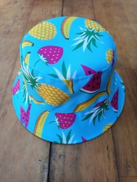 Chapéu Bucket Tropical Estampado Adulto Unissex - Super Estiloso