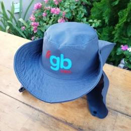 Chapéus Australiano com Saia Personalizado Pintado Frente e Traseira