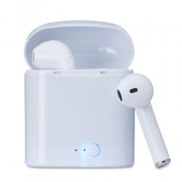 Fone de ouvido sem fio bluetooth com carregador