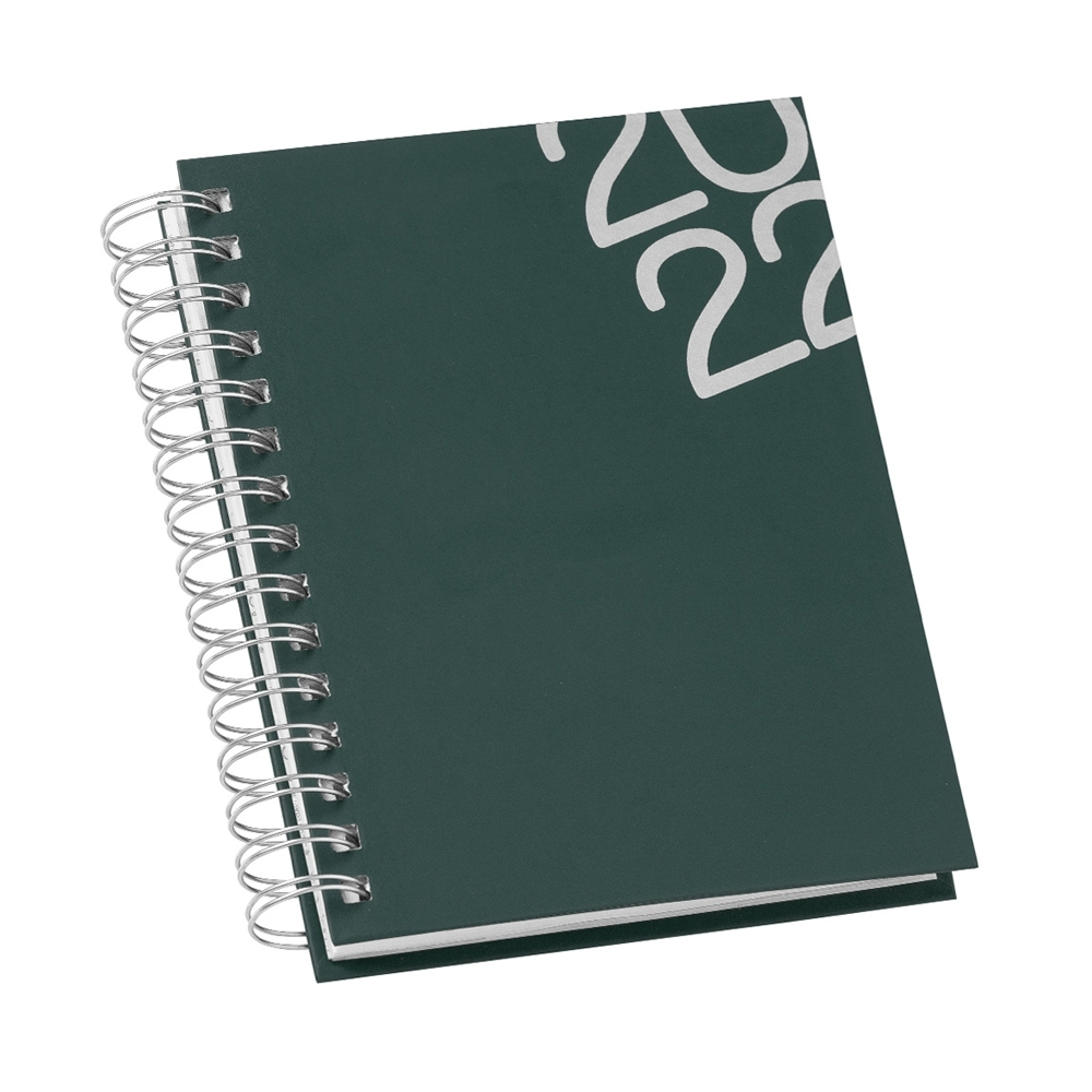 Agenda Diária 2022 Wire-o Personalizada - 14626
