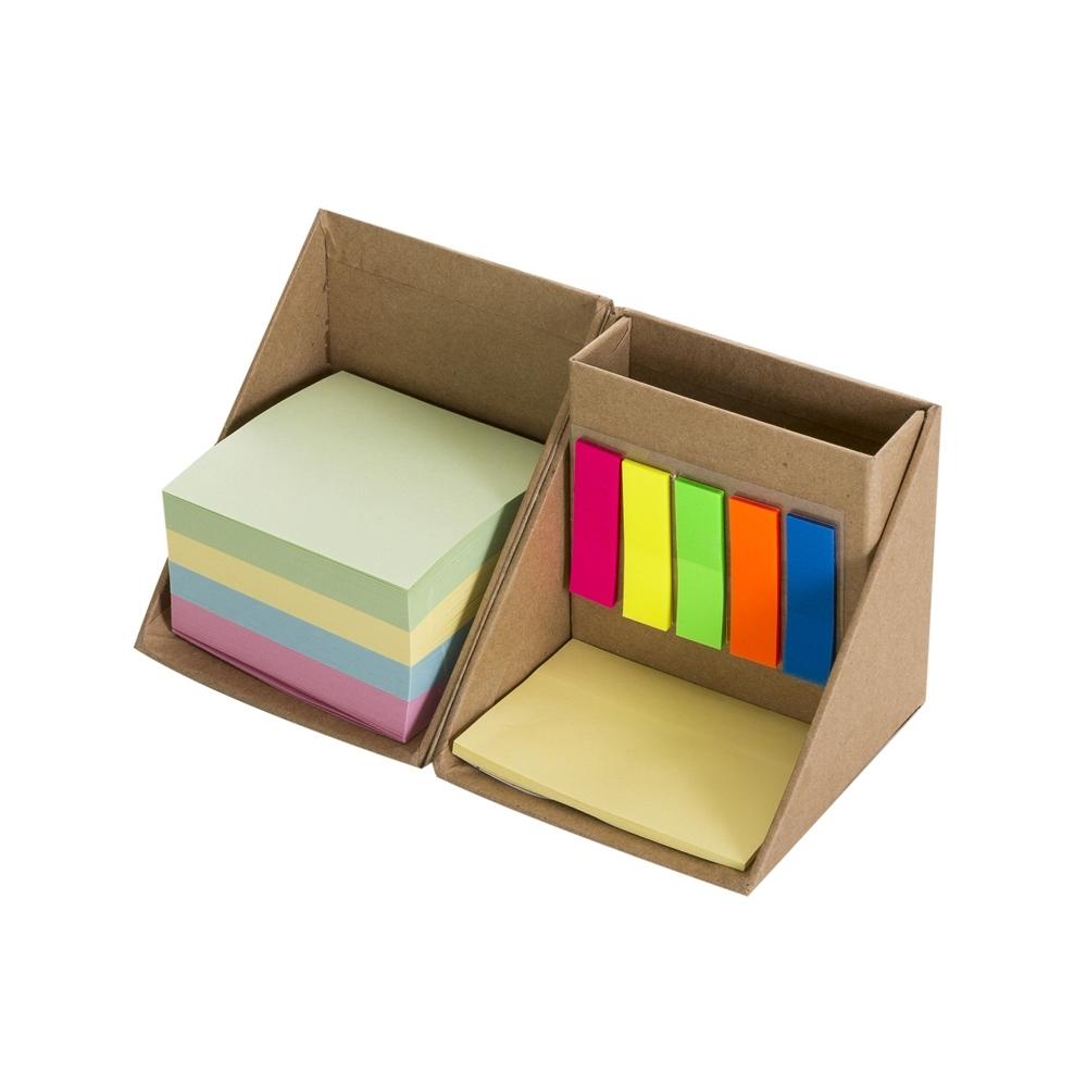 Bloco de Anotações Formato Cubo com Autoadesivos