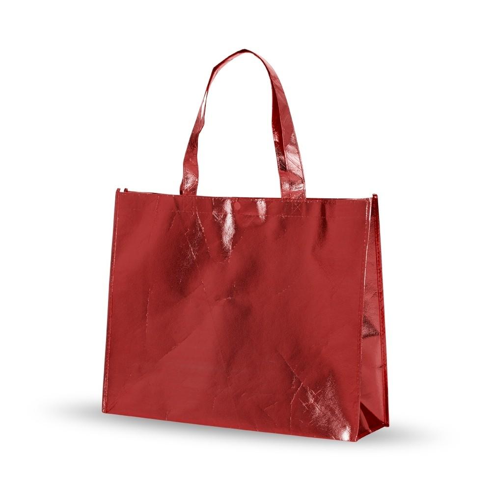 Bolsa Ecobag 35x45x11cm em tecido TNT Metalizado