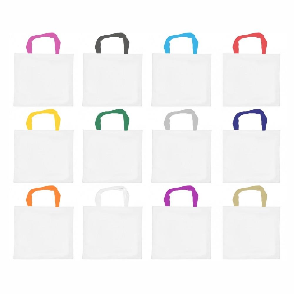 Bolsas Ecobag Oxford 23x34cm Com Sua Logo Colorida