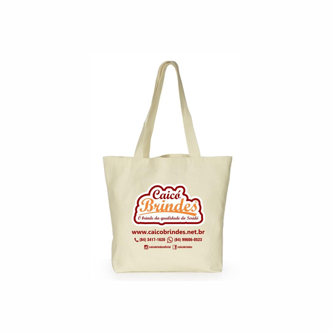 Bolsas em Tecido Algodão Cru 45x45cm Personalizada em 1 cor