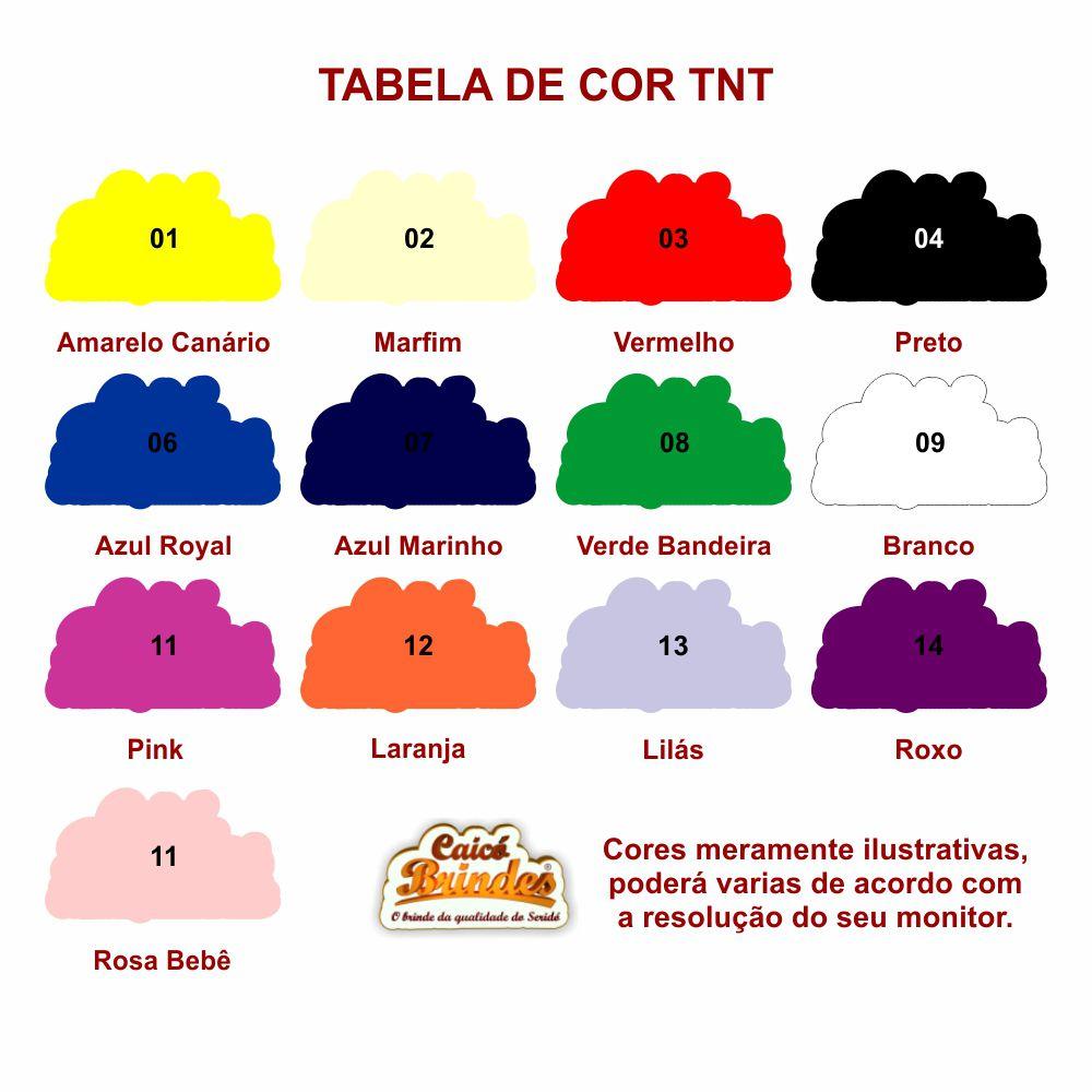 Bolsas em TNT 040g 37x37cm Personalizada em 1 cor