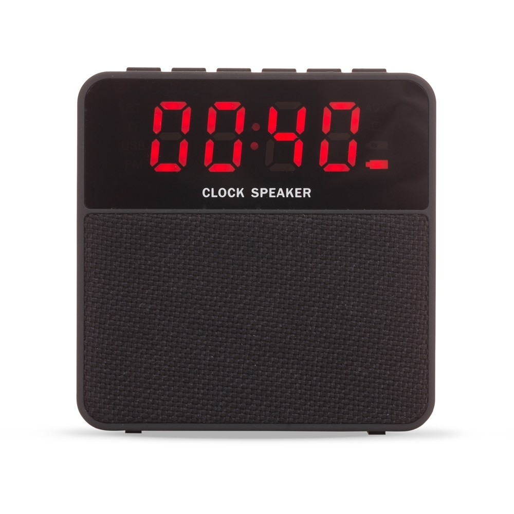Caixa de Som Multimídia com Relógio - Ref.: 2071