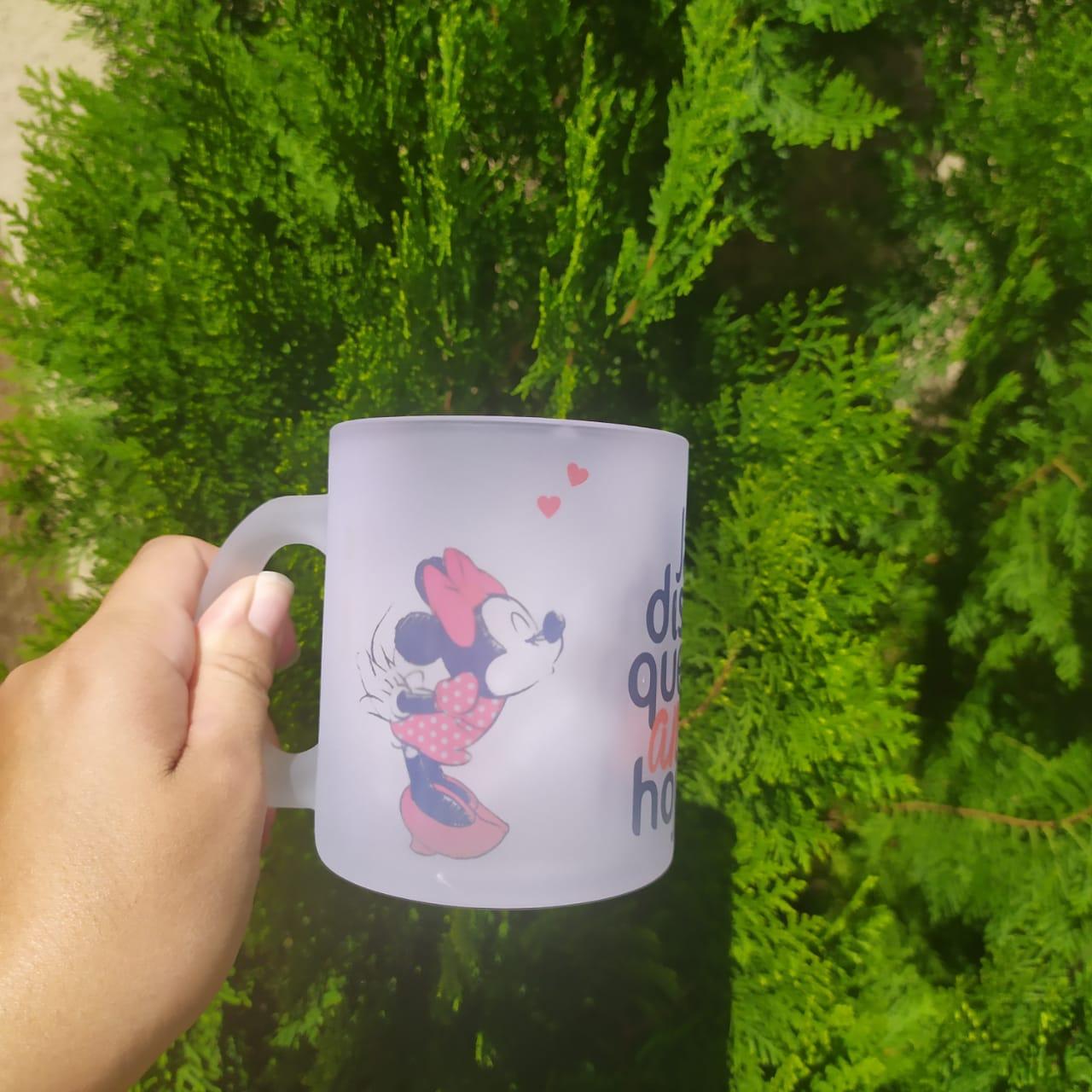 Caneca Jateada 325ML (11OZ) Personalizada Impressão Colorida